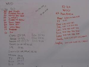 Scoreboard 12-19 & 12-20