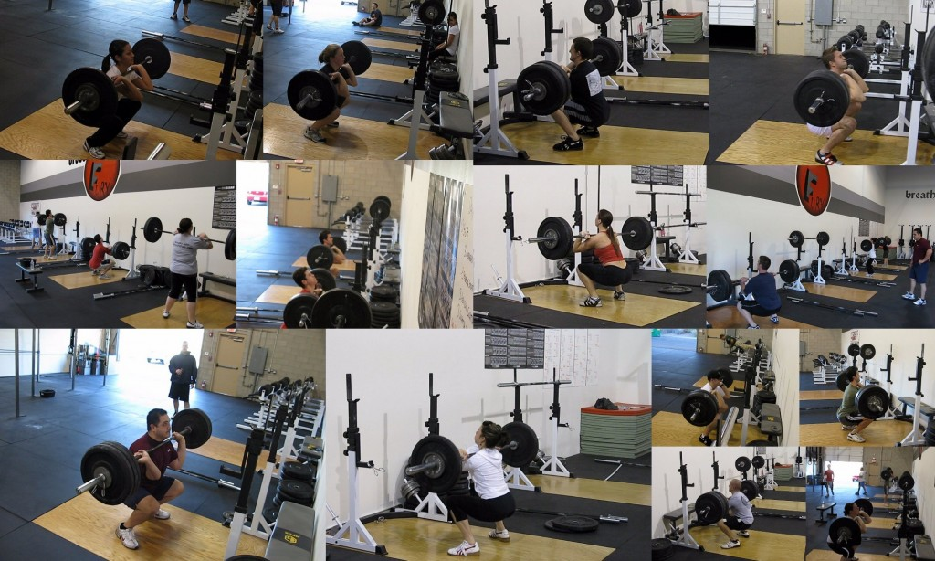 Front Squat Collage
