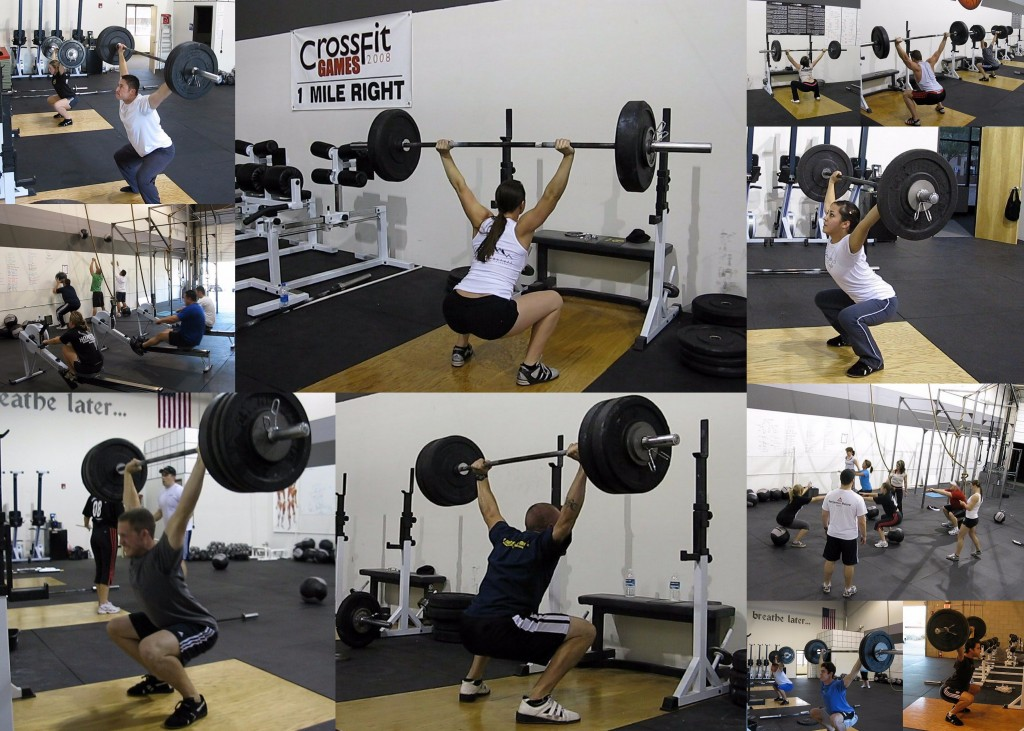 Overhead Squats collage