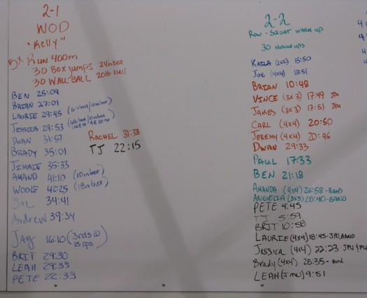 Scoreboard 2-1 &2-2