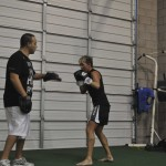 Jocelyn Sparring