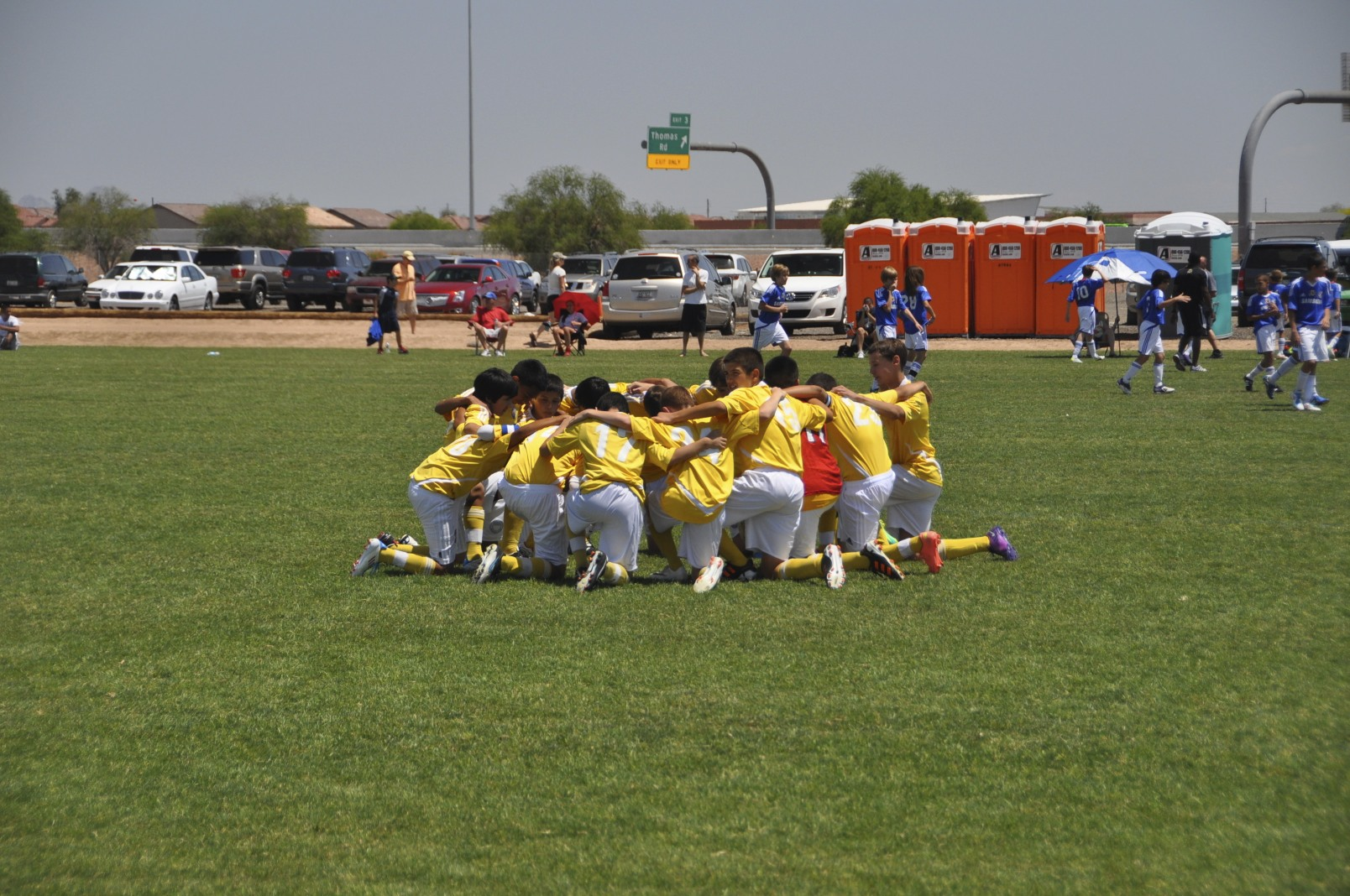 Team Work: Banat 99's State Championship