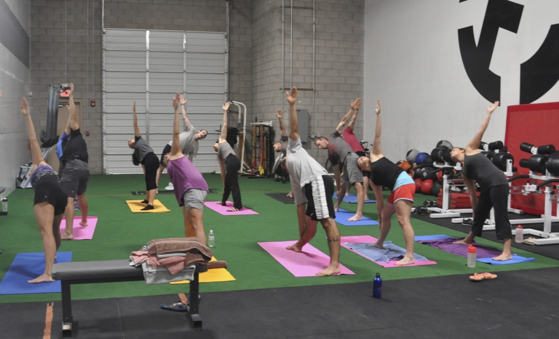 Why CrossFitters should practice Yoga