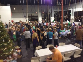 CrossFit Fury has a great Community-over 150 members came to the Holiday party this year!
