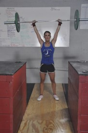 Hahne moved quickly through Basics and Prep, joining her husband in CrossFit after just 3 months.