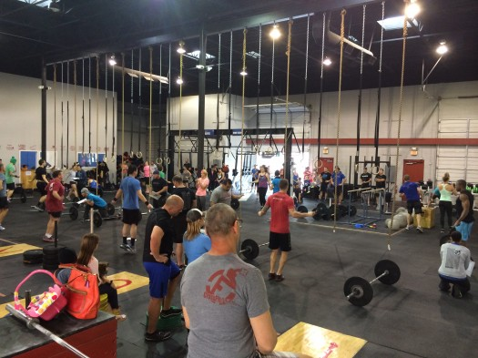 Just over 100 athletes participated in the Open this Saturday at Fury!