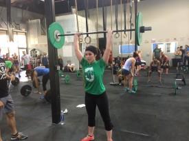 Stephanie Savage wraps up 14.5 in 21:19!