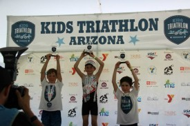 Conner Rassas takes 2nd place in his first ever triathlon.