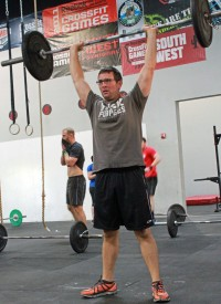 Josh was introduced to CrossFit by fellow members Matt Lizotte and Jeff Castro. Josh initially started CrossFit to loose weight but now loves the sense of accomplishment too!