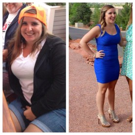 Kelsi dropped 25 pounds in the last 8 months but even more important is the amount of confidence she has gained in herself.  We are very proud of Kelsi and all her hard work!