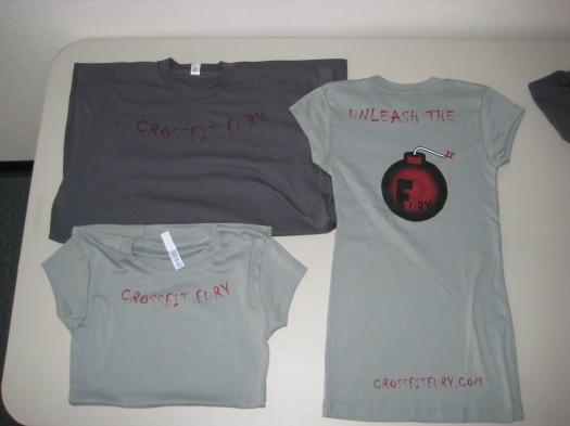 CrossFit Fury Shirts 090615