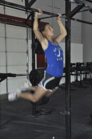 Hahne credits CrossFit for getting her in the best shape of her life as well as helping her MS.