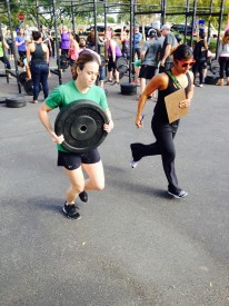 Heather Hege caught the competition bug after Furious 6 and competed the following weekend in another team event-The C-Town Throwdown.