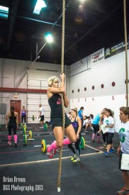 Susie Kuhler competed in her first ever CrossFit competition teaming up with Brianne Stearns as Team Brusie!