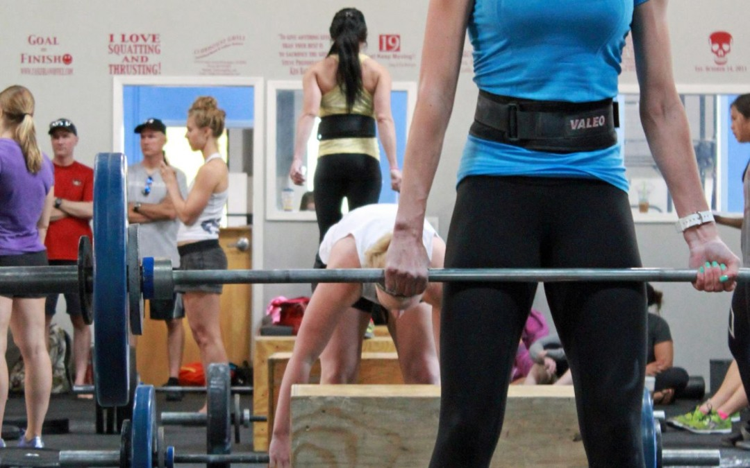 14.3 Wrap Up: Deadlifts and Box Jumps
