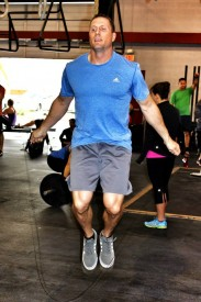 Saxon started CrossFit in 2007 and joined Fury in 2013. He finished the Open in 195th place in his age 40-44 age division.