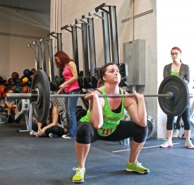 Danee started CrossFit in Spetember 2011 and her first workout was 7 minutes of Burpees!