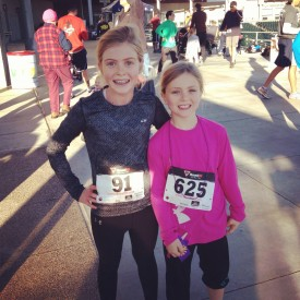 Taylor and her sister, Nicole, run in the Goodyear Heart & Sole 5k every year taking the top spots in their respective age groups!