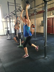 Lauren Driessen is having her second baby and feels CrossFit has helped her throughout her pregnancy.