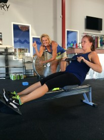 Bridget Palmer is pregnant with her 4th child but first while doing CrossFit.