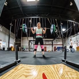Jen Lampe Back squat