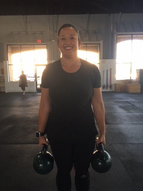 October Spotlight Athlete of the Month-Bernadette Delacruz