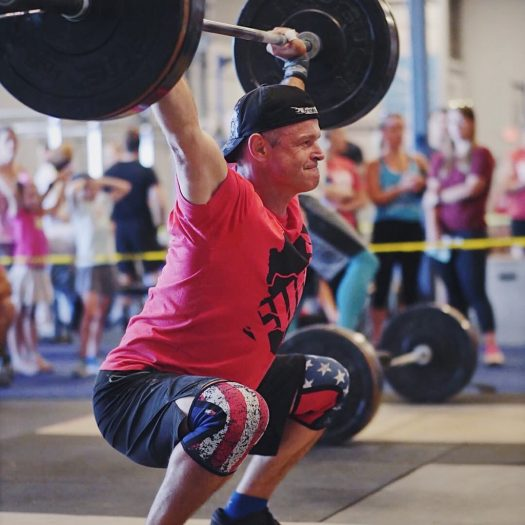 Picture of Ryann Roberts, squat snatch
